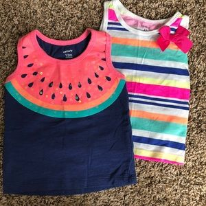 2 for $8 ☀️ 12 month Carter's top lot